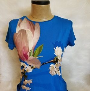 Stunning Ted Baker Aeesha Harmony Fitted Top